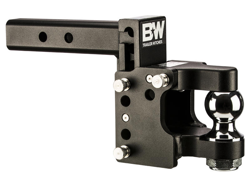 Combination Pintle / Ball Mount For 2-1/2 Inch Receivers