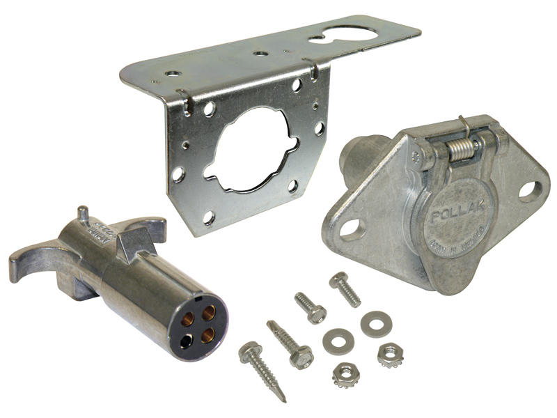 4-Way Round Car End & Trailer End Kit