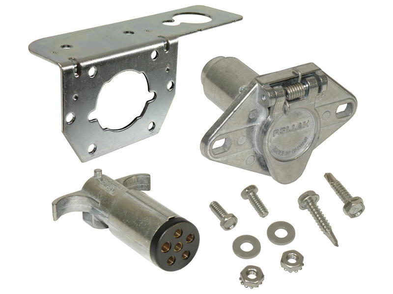 6-Way Round Car End & Trailer End Kit