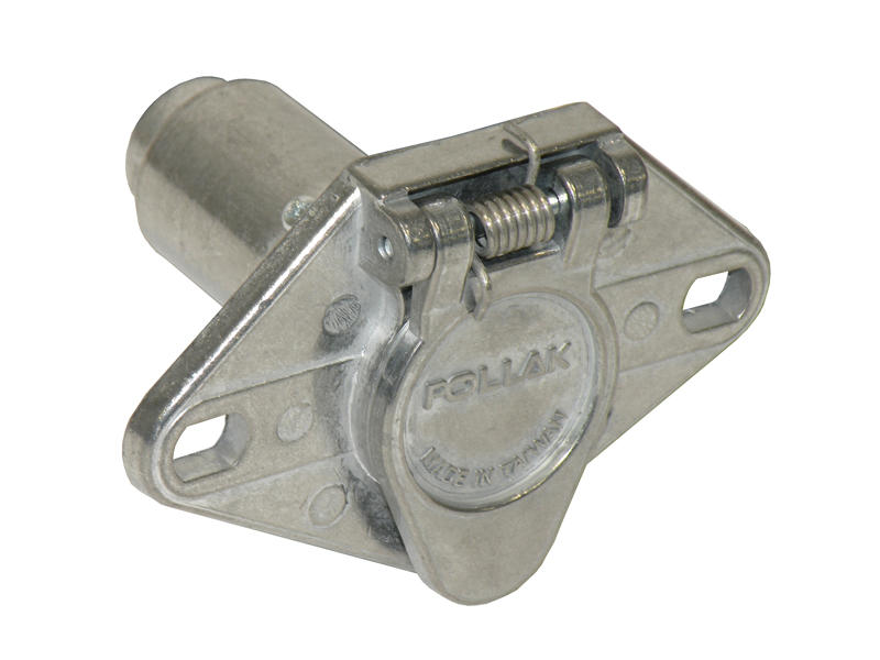 6-Way Round Car End Socket