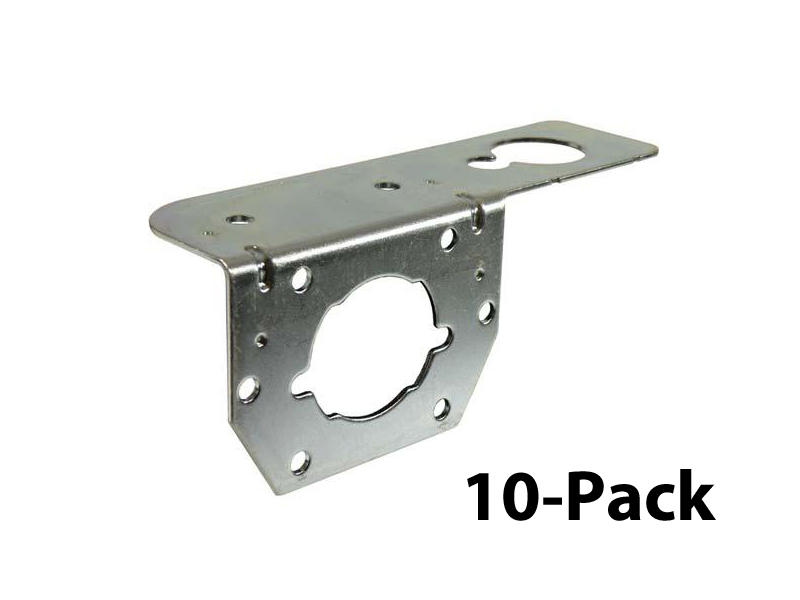 4-Way and 6-Way Socket Mounting Bracket - 10-Pack