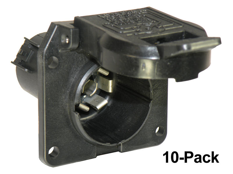 7-Way OEM Replacement Sockets - 10-Pack