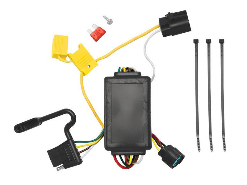Replacement OEM Tow Package Wiring Harness with Circuit Protected ModuLite