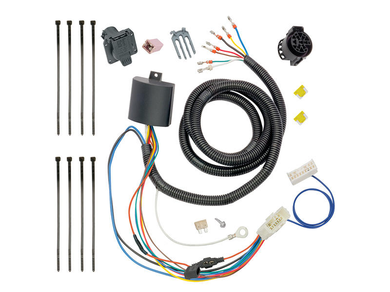 Tow Harness Wiring Package (7-way) With Circuit Protected Modulite HD Module