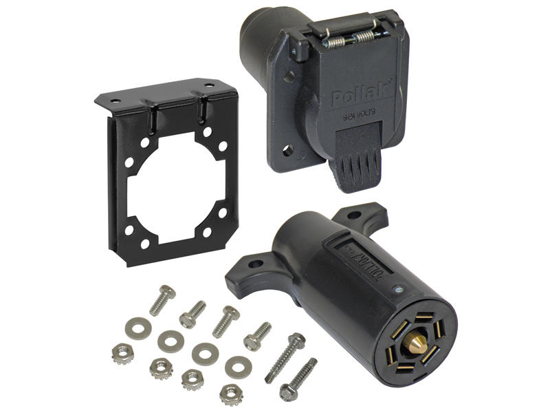 7-Way Flat Pin Car End & Trailer End Kit