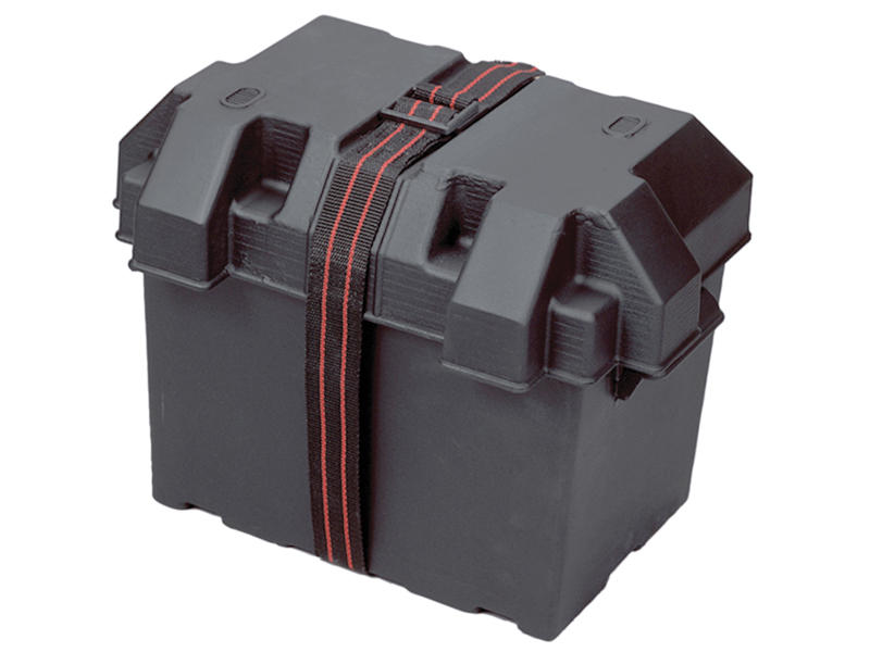 Group 24 Style Battery Box With Strap