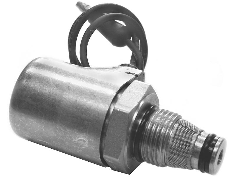 A Solenoid - Lower - (Coil & Valve) For Meyer Snow Plows