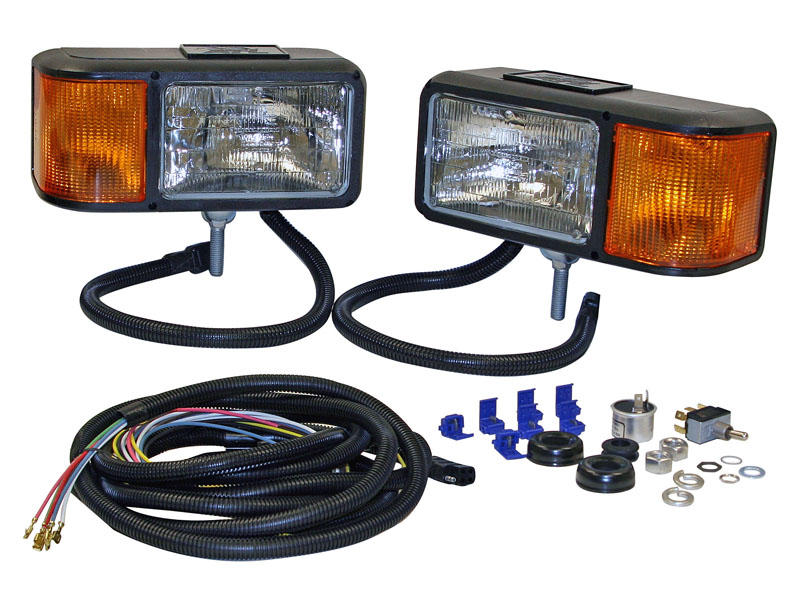 Snow Plow Headlight Kit