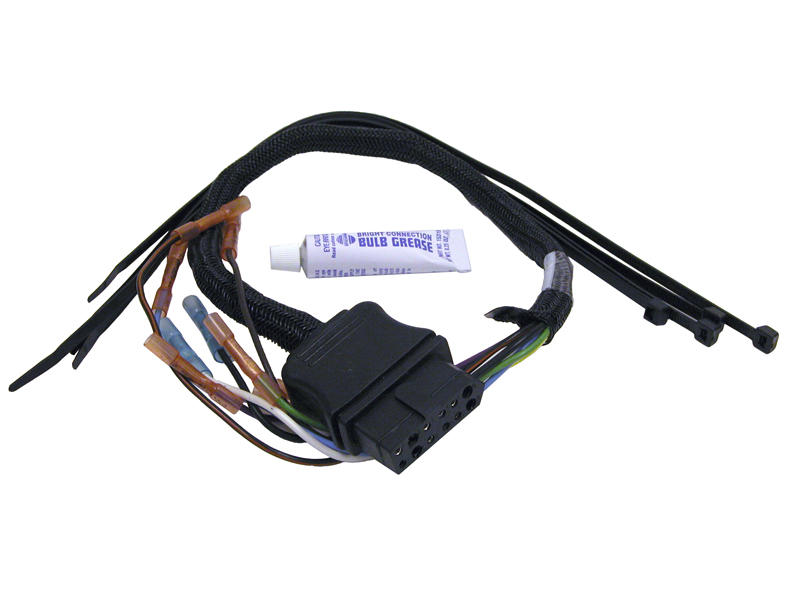 9-Pin Wiring Harness - Vehicle Side For Western Or Fisher Snow Plows