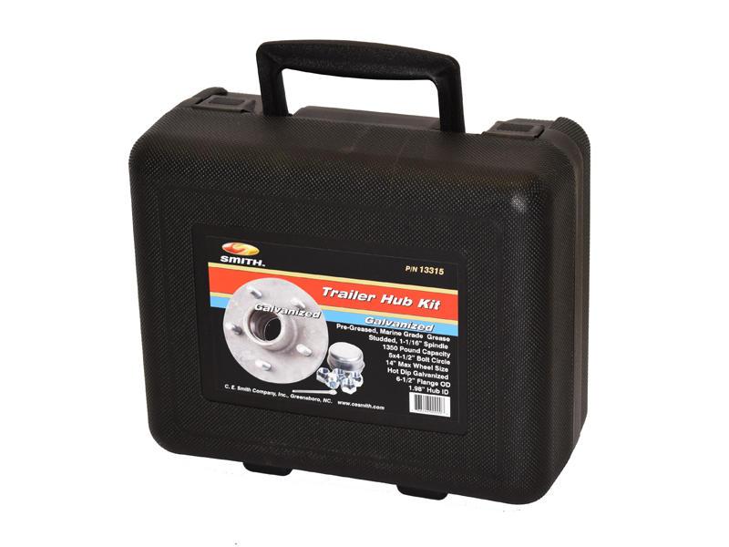 Emergency Hub Repair Kit For 1-1/16 Inch Straight Spindles - Galvanized Hub