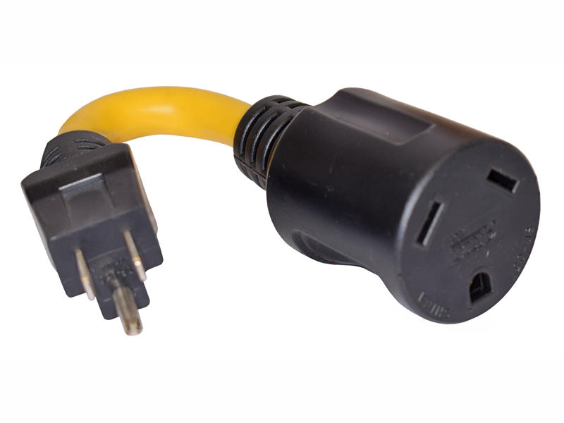 110-Volt Premium Series Temporary Pigtail Adapter