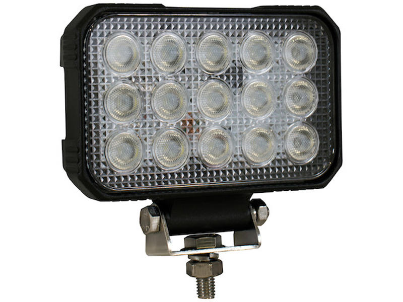 5.9 Inch x 4.8 Inch Rectangular LED Clear Spot Light