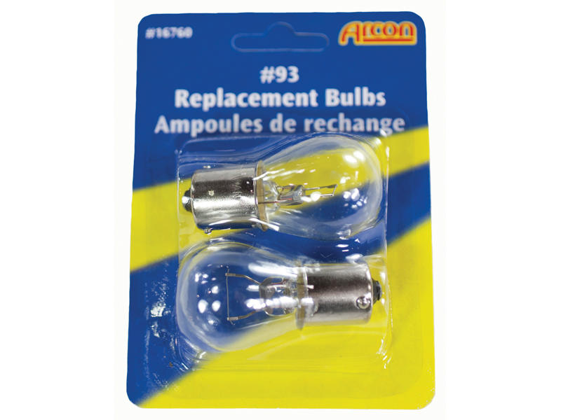 #93 Incandescent Bulbs - 2-Pack