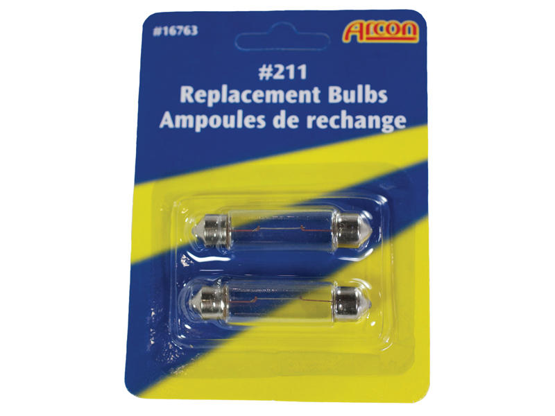 #211 Incandescent Bulbs - 2-Pack