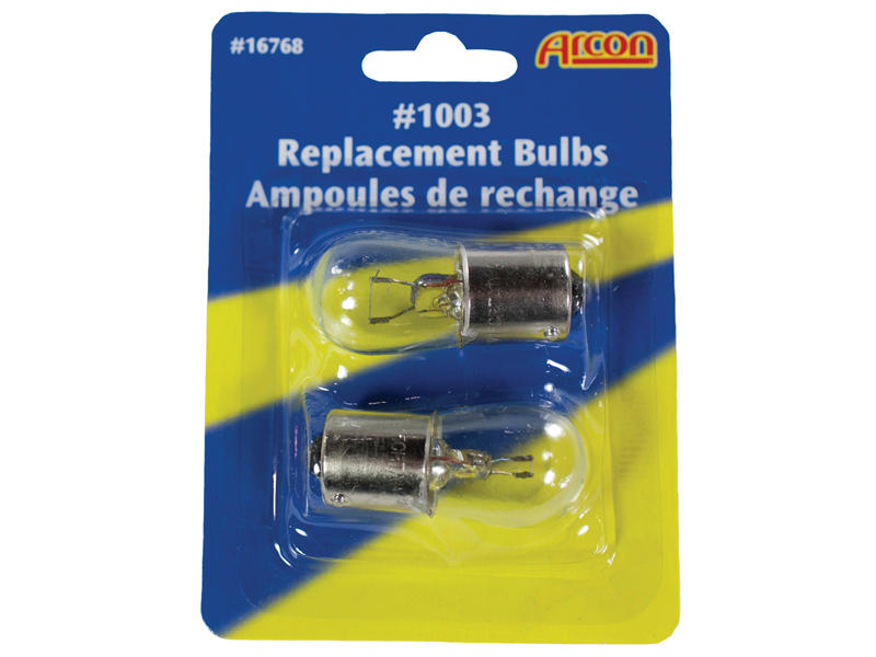 #1003 Incandescent Bulbs - 2-Pack