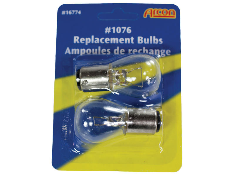 #1076 Incandescent Bulbs - 2-Pack