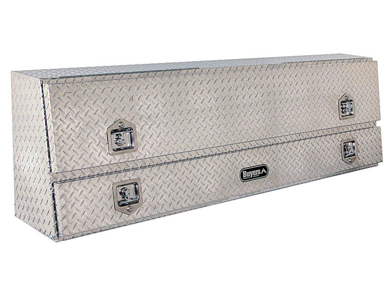 Buyers Contractor Style Aluminum Topside Toolbox