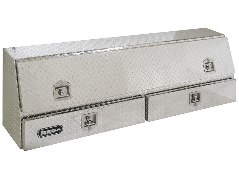 Buyers Contractor Style Aluminum Topside Tool Box With Drawers
