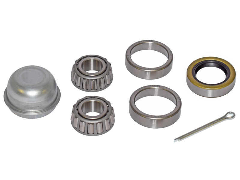 Trailer Bearing Repair Kit For 3/4 Inch Straight Spindle