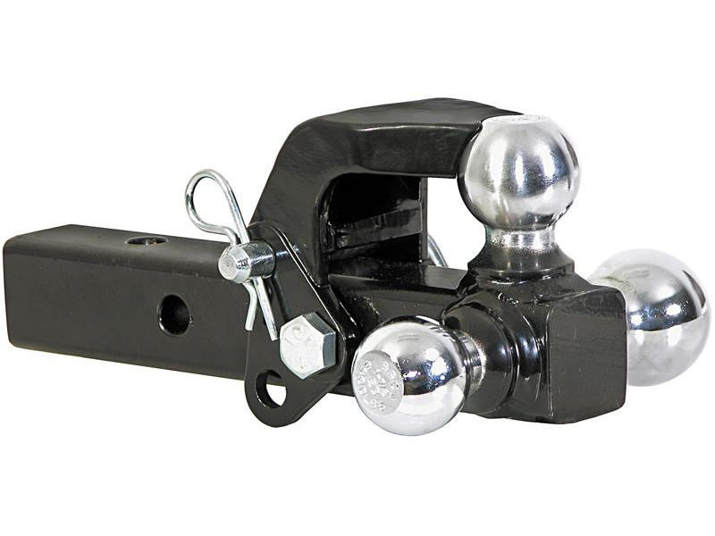 Tri-Ball Ball Mount with Pintle Hook