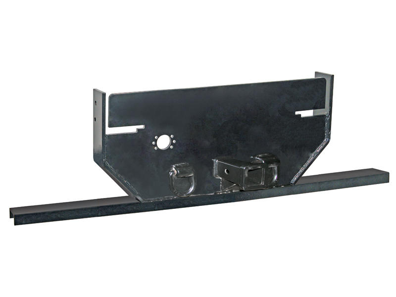 1/2 Inch Hitch Plate with 2-1/2 inch Receiver Tube for Ford Cab and Chassis