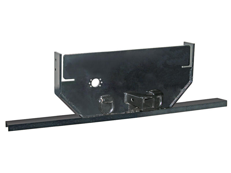 1/2 Inch Hitch Plate with Receiver Tube for GM Cab and Chassis