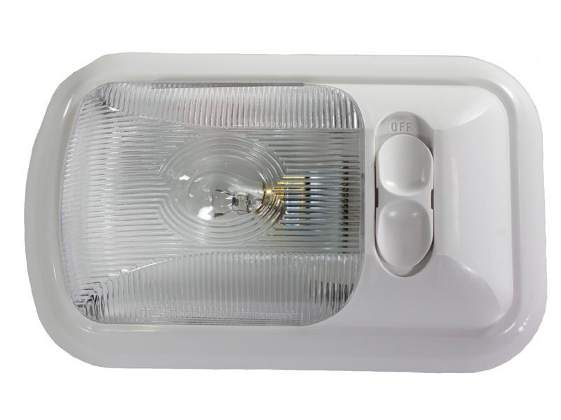 12-Volt Euro-Style Single Light - Optic Lens