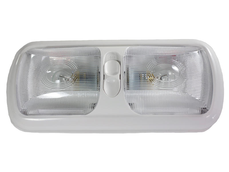 12-Volt Euro-Style Double Light - Optic Lens