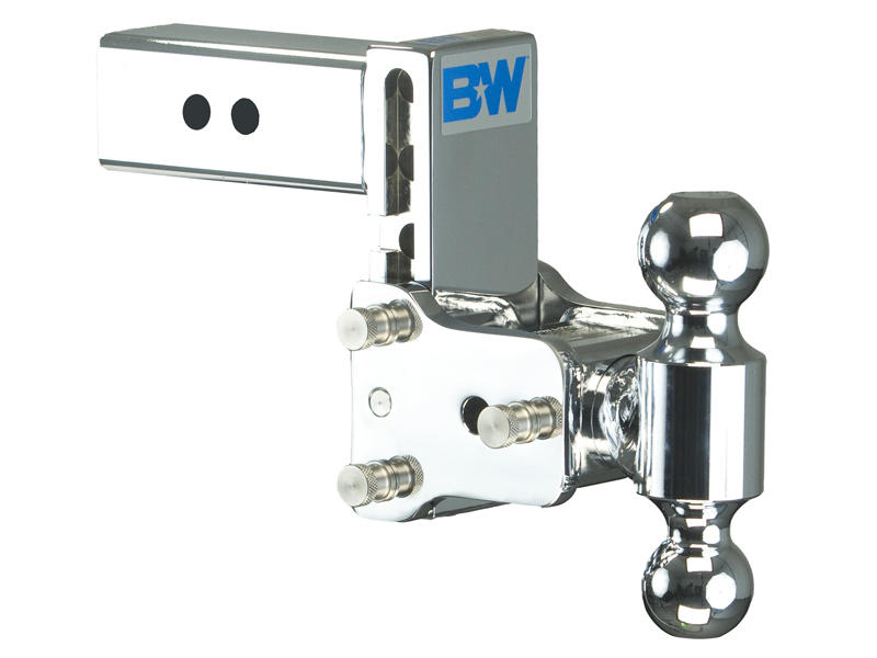 Tow & Stow Double-Ball Ball Mount For 2-1/2 Inch Receivers