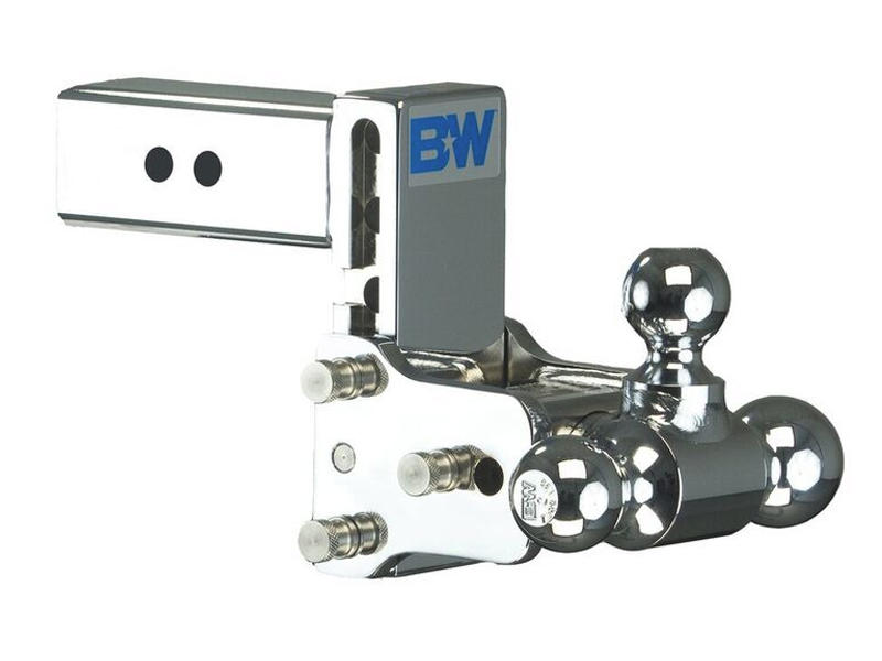 Tow & Stow Tri-Ball Ball Mount For 2-1/2 Inch Receivers