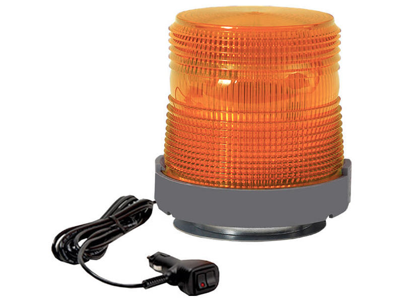 Quad Flash Amber Strobe (Magnetic Base)