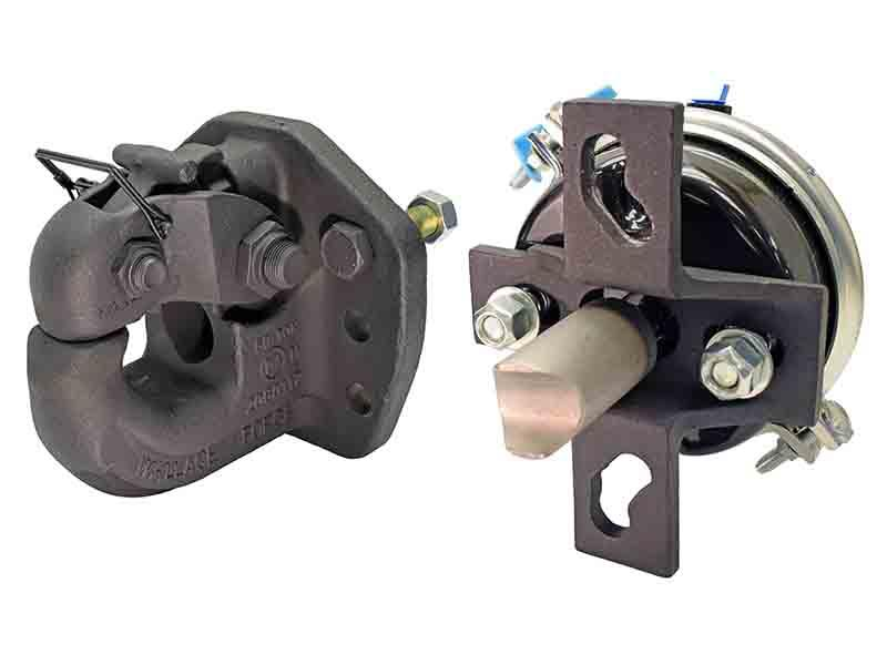 50 Ton Rigid Mount Pintle Hook with Air Actuator