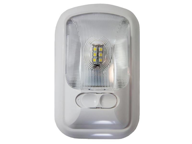 12-Volt Euro-Style Single L.E.D. Light - Optic Lens