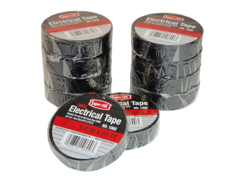 Vinyl Electrical Tape - 10 Pack