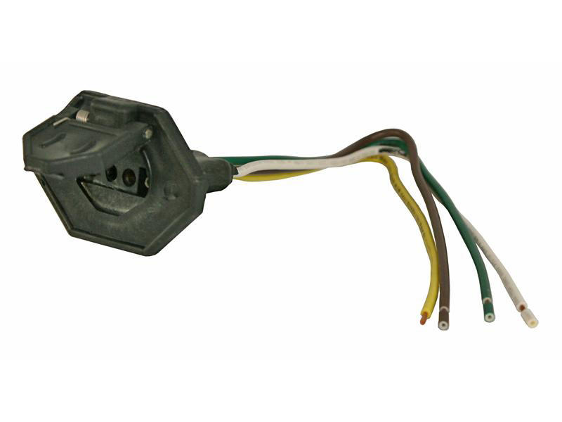 4-Flat Car End Connector With Cover