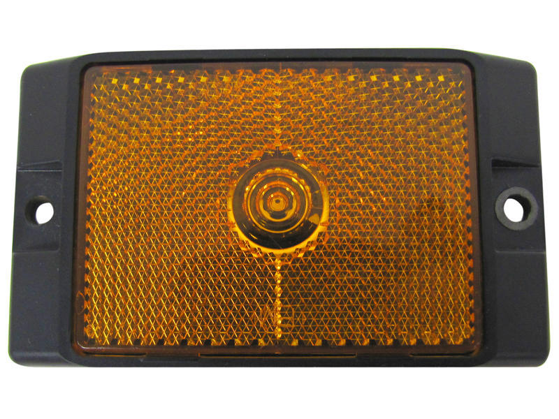L.E.D. Clearance/Side Marker Amber Light W/ Reflex - Amber