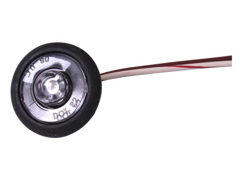 Amber LED Bullet Light - Clearance/Side Marker