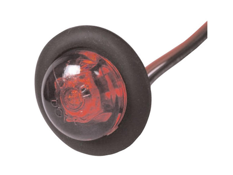Red LED Bullet Light- Clearance/Side Marker