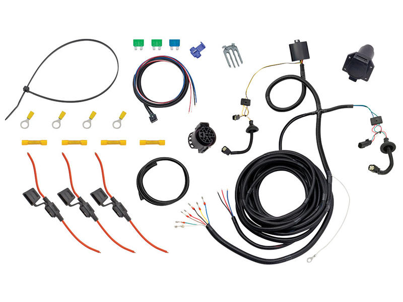 [TBQL_4184]  Tekonsha 22114 Tow Harness w/ Modulite and Brake Control Harness - 7-Way  Connector | 7 Way Wire Harness |  | Reese-Hitches.com