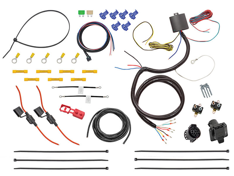 Universal Wiring Harness w/ Modulite and Brake Control Harness - 7-Way Connector