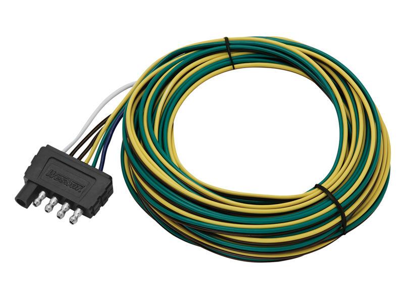 5-Flat Trailer End Plug