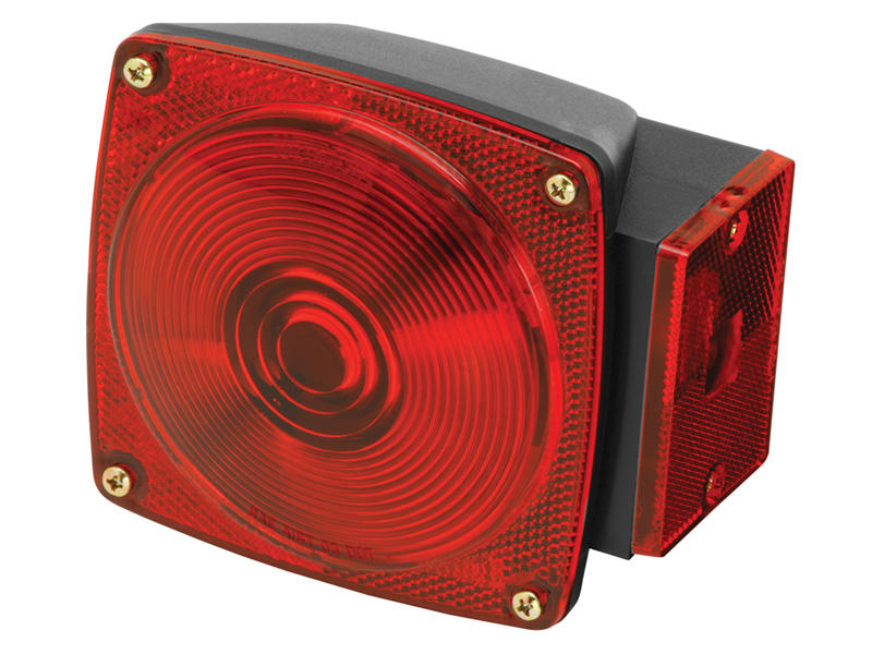 Square Trailer Tail Light - Right