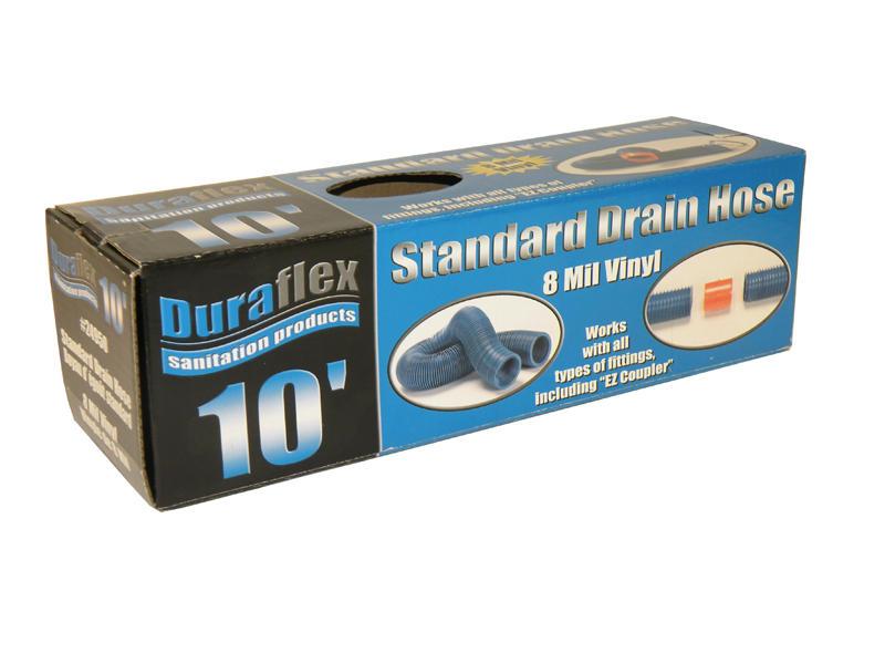 Duraflex Drain Hose - Standard - 10 Feet - Boxed