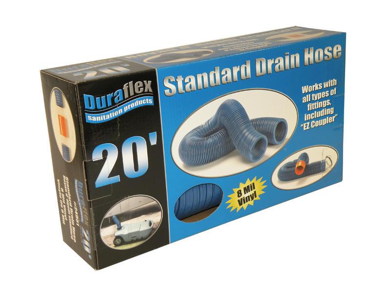 Duraflex Drain Hose - Standard - 20 Feet - Boxed