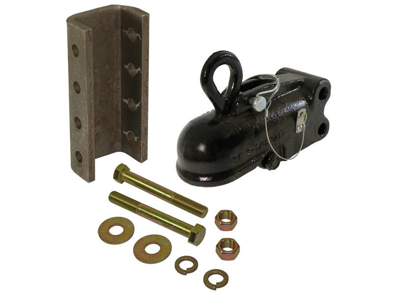 Wallace Forge Easy Lock Adjustable 2-5/16 Inch Coupler w/Channel and Hardware