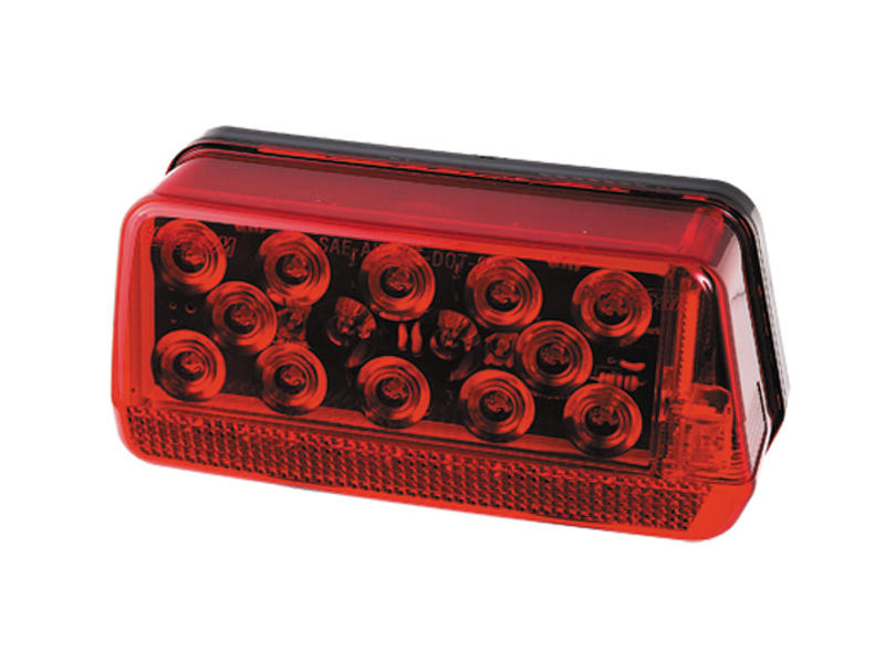"Waterproof LED ""Over 80"" Wrap-Around Trailer Tail Light- Right"