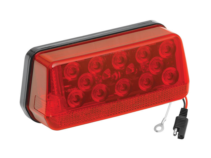 "Waterproof LED ""Over 80"" Wrap-Around Trailer Tail Light- Left"