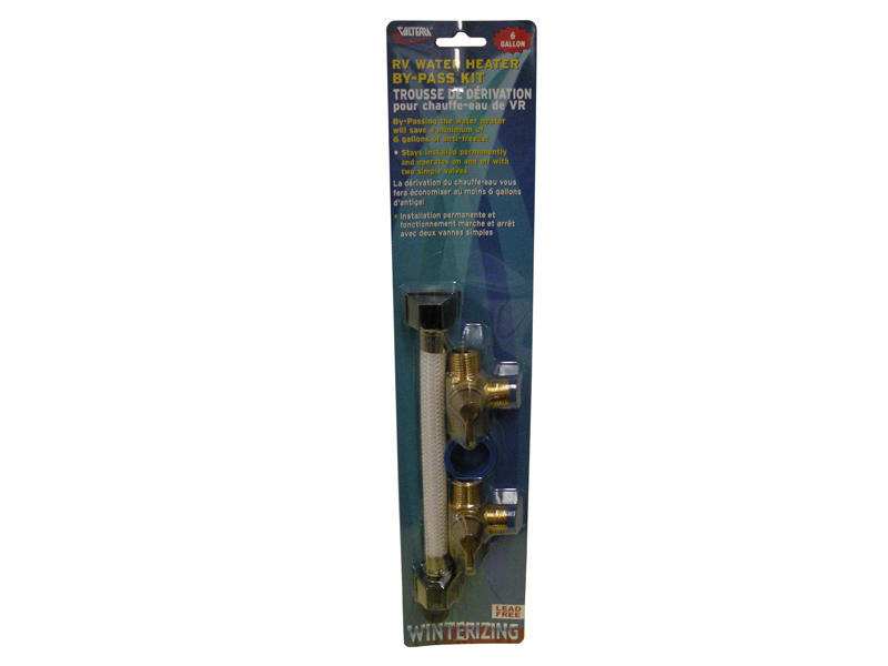 8 Inch Permanent Water Heater By-Pass Kit - 6 Gallon