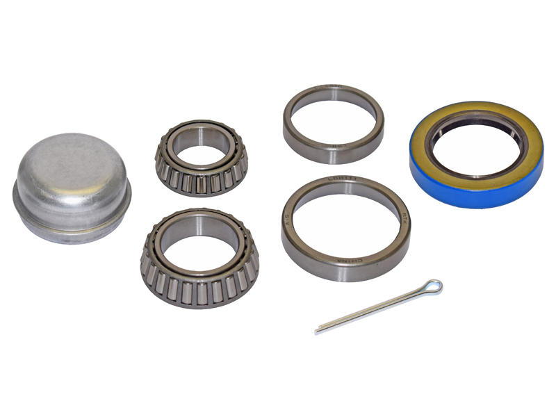 Trailer Bearing Repair Kit For 1-3/8 To 1-1/16 Inch Tapered Spindle