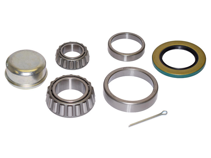 Trailer Bearing Repair Kit For 1-3/4 To 1-1/4 Inch Tapered Spindle (6-Bolt)